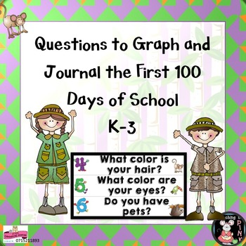 Graph and Journal the First 100 Days of School