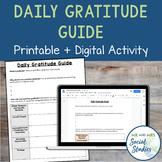 Daily Gratitude Guide (Student Handout)