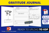Daily Gratitude Journal | KDP Interior Template Ready to Upload