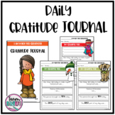 Daily Gratitude Journal for Students & Teachers