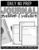 Daily Gratitude, Self-Reflection, and Mindfulness Journal