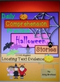 Daily Halloween Stories Locating Text Evidence Comprehensi