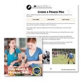 Daily Health & Hygiene Skills: Create a Fitness Plan - BONUS WORKSHEETS