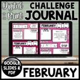 Daily Health & Kindness Journal | FEBRUARY |  Google & Printable
