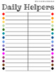 Daily Helpers (A Simple Alternative to Classroom Jobs)