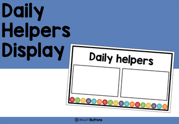 Daily Helpers display - buttons theme