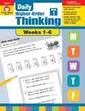 Daily Higher-Order Thinking Bundle, Grade 1, Weeks 1–6