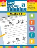 Daily Higher-Order Thinking Bundle, Grade 2, Weeks 1–6