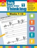 Daily Higher-Order Thinking Bundle, Grade 2, Weeks 7–12