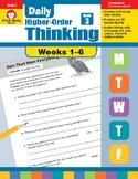 Daily Higher-Order Thinking Bundle, Grade 3, Weeks 1–6