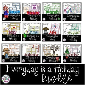 Holiday Cards: Everyday is a Holiday Bundle