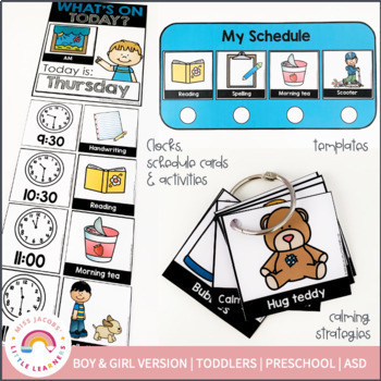 Daily Home Routine   Schedule for Toddlers and Preschoolers