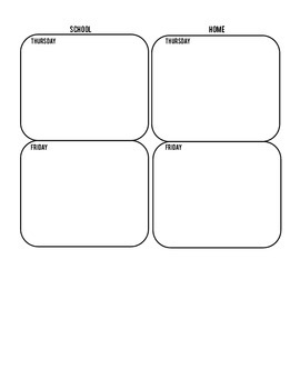 Daily Home-School Communication Form