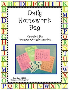 Daily Homework Bag