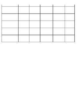 Daily Homework Chart