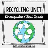 Recycling Unit for Kindergarten or First Grade