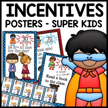 Daily Incentives (Superhero Themed)