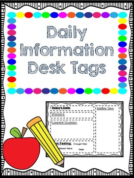 Daily Information Desk Tags