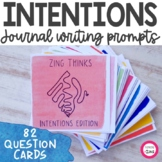 Daily Intentions Writing Prompts and Conversation Starters