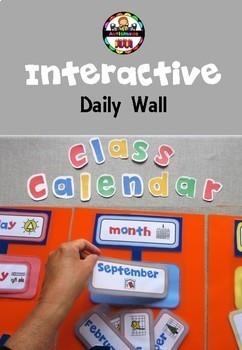 Daily Interactive Calendar Wall