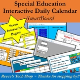 Daily Interactive Calendar for SmartBoard