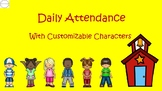 Daily Interactive Student Sign In Attendance