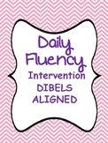 Daily Intervention Practice DIBELS aligned (NWF and Sight Words)