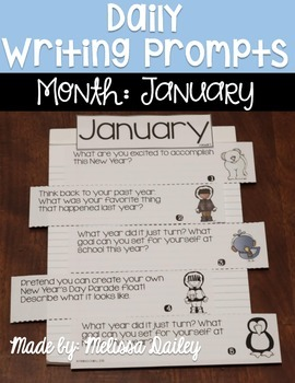 Daily Writing Prompts {January}