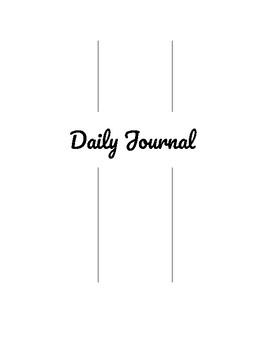Daily Journal (Digital Template)
