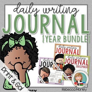 Daily Journal Bundle (Writing Prompts)