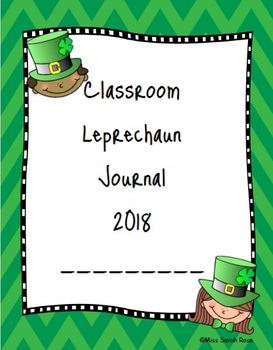 Daily Journal - Classroom Leprechaun
