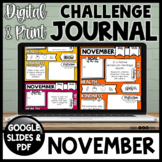 Daily Health & Kindness Journal | November Journal | Google & Printable