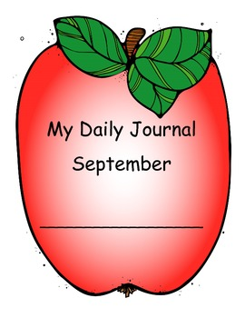 Daily Journal Pages/Weather/Calendar, etc