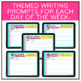 Daily Journal Prompts | Writing Prompts Google Slides | Distance Learning