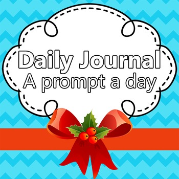 Daily Journal Prompts Calendar (September - May) SCHOOL YEAR EDITION