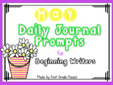 Daily Journal Prompts for Beginning Writers - May