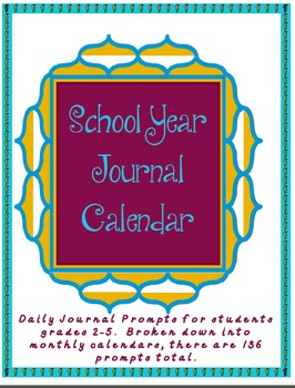 Daily Journal Prompts for the Months of May and June