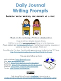 Daily Journal Writing Prompts, Part 1