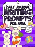 April: Daily Journal Writing Prompts ~ April & Spring