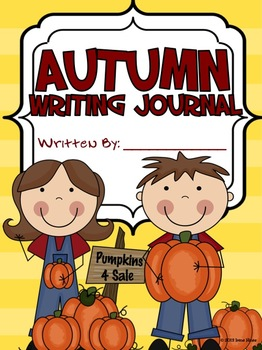 September: Daily Journal Writing Prompts ~ A Back To School Writing Unit