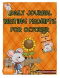 October: Daily Journal Writing Prompts For Autumn & Halloween