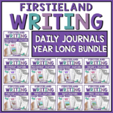 Daily Journal Writing Prompts for Kindergarten or 1st Grad