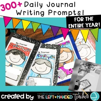 Writing Prompts for the entire year: Daily Journal