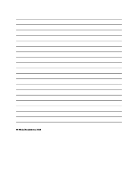 Daily Journaling Activity Worksheet