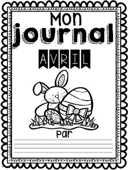Daily Journaling Prompts-April/Journal-Avril (écriture quotidienne)