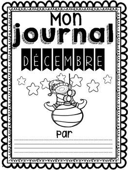 Daily Journaling Prompts-December/Journal-Décembre (écriture quotidienne)