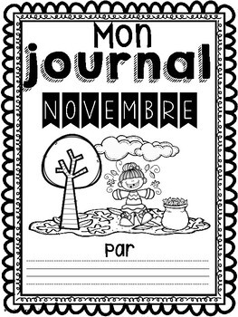 Daily Journaling Prompts-November/Journal-Novembre (écriture quotidienne)