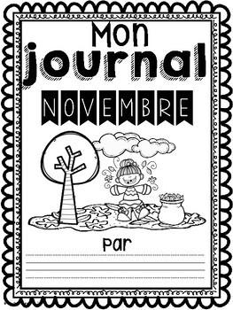 Daily Journaling Prompts-November/Journal-Novembre (écriture quotidienne)