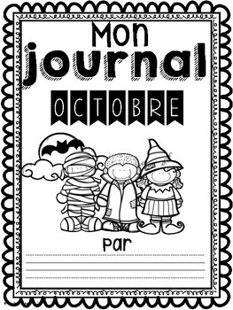 Daily Journaling Prompts-October/Journal-Octobre (écriture quotidienne)