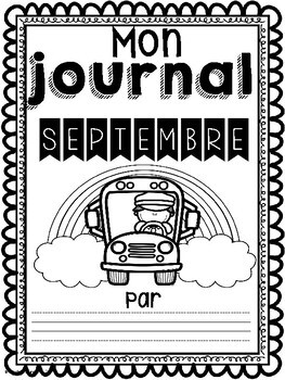 Daily Journaling Prompts-September/Journal-Septembre (écriture quotidienne)